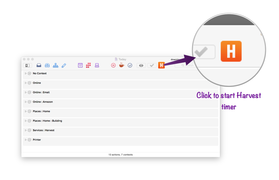 One-click Timer Start